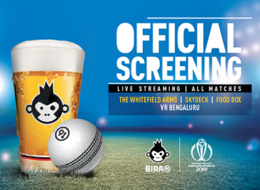 ICC WORLD CUP SCREENING WITH BIRA 91 HOT SAUCE