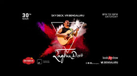 The Raghu Dixit Project, live at Skydeck, VR Bengaluru