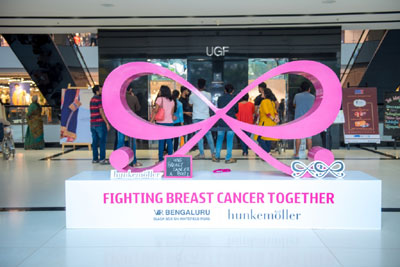 Breast Cancer Awareness Event with Hunkenmoller, 29th October, 2017