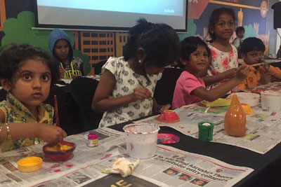 Diwali Kids Workshop, 13th - 18th Oct '17