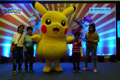Meet & Greet with Pikachu, 11th & 12th November, 2017