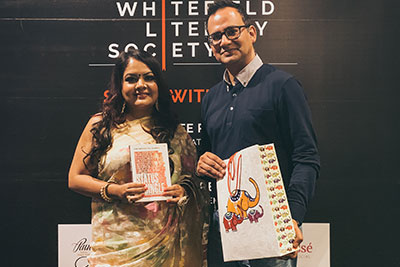 The Whitefield Literary Society Launch - Salon With Shree - 5th July 2019
