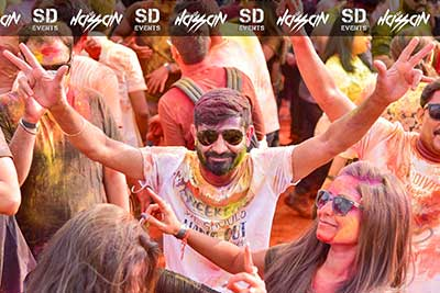 Biggest Disco Holi @ Sky deck , VR Bengaluru - 21st - 23rd Mar '19