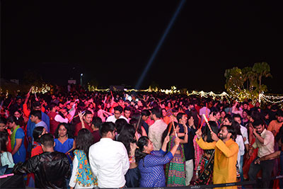 Disco Dandiya At SkyDeck VR Bengaluru on 13th Oct '18