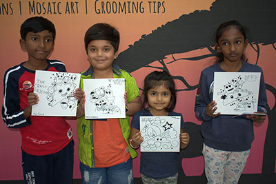 VR Kids' Kanvas - Doodle Art workshop on 27th - 28th Oct '18