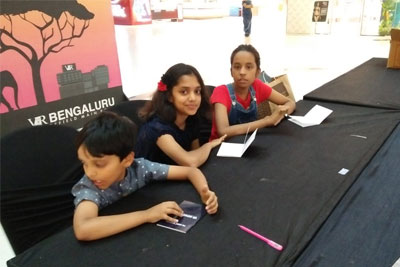 Dasara special VR Kids' Kanvas - Canvas painting workshop on 17th Oct '18
