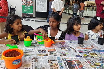 VR Kids' Kanvas - Gardening workshop on 8th and 9th Sep '18