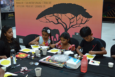 VR Kids' Kanvas - silhouette painting workshop on 1st and 2nd Sep '18