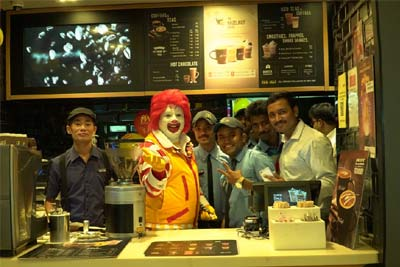 Meet Ronald McDonald,23rd Jul '17
