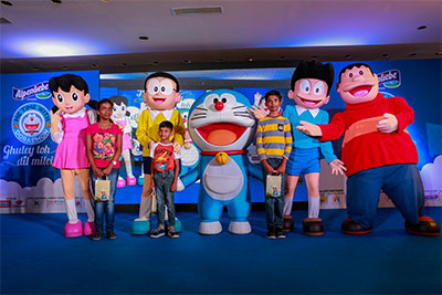 Me time with Doraemon - 31st May to 2nd June 2019