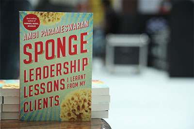 Sponge book Launch On 25th Aug '18