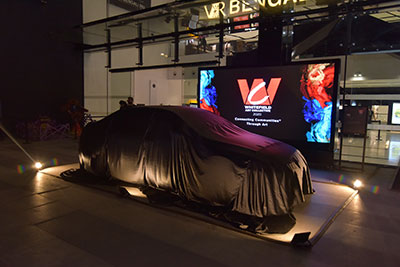 Unveiling of VR Art Car and Fireside Chat with Bose Krishnamachari - 7 February