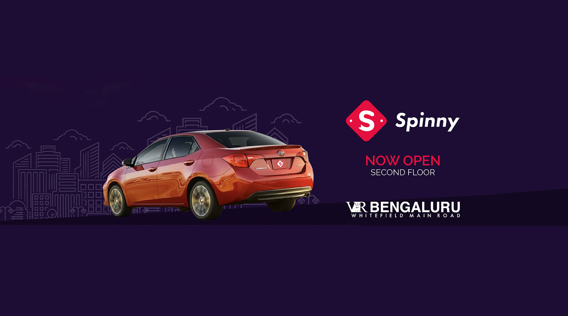 Spinny - Now Open