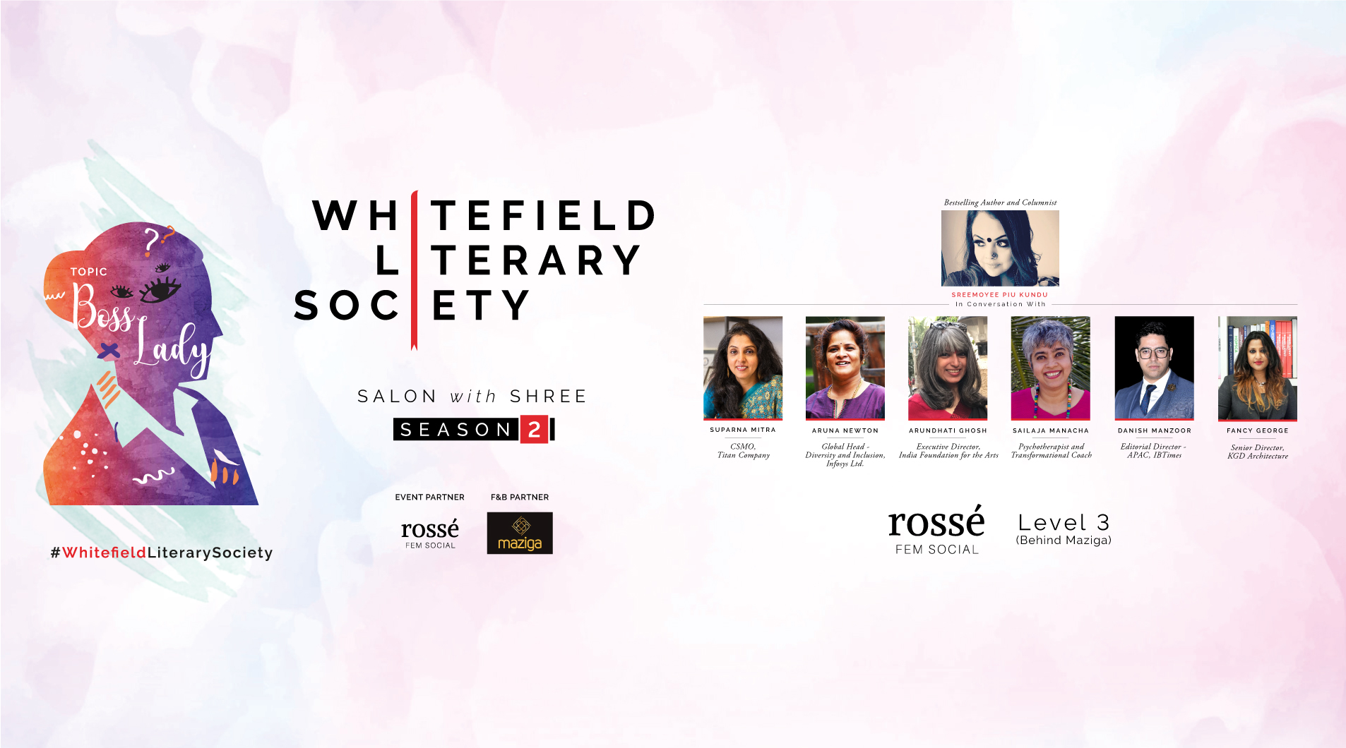 Whitefield Literary Society - Salon with Shree
