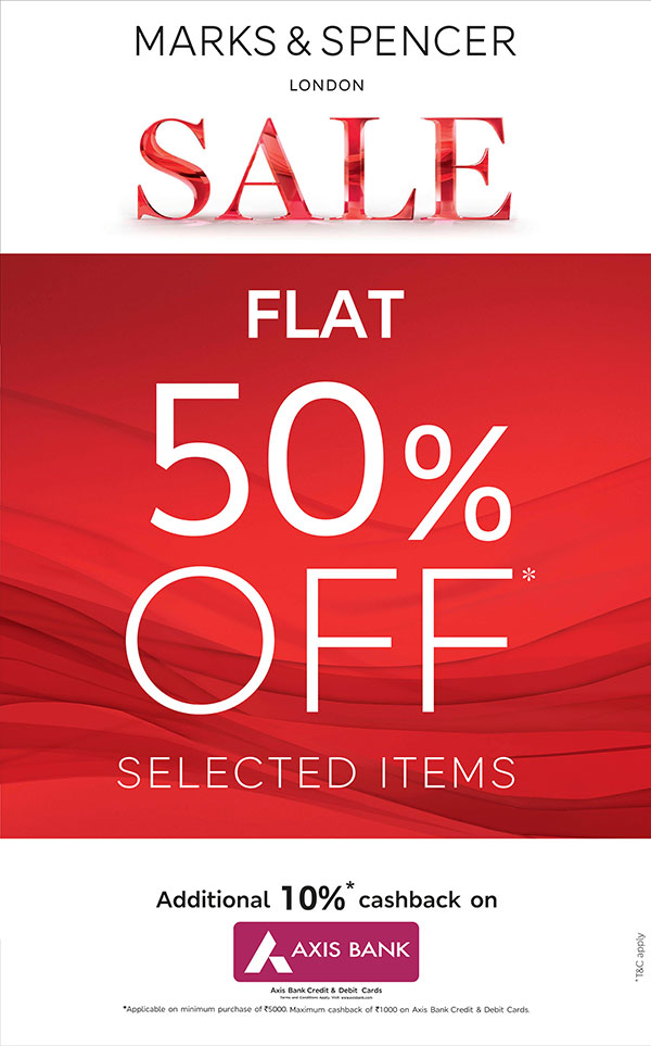 EOSS SALE FLAT 50% OFF Selected line
