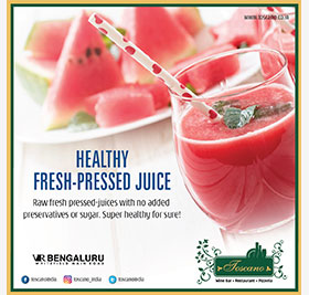 HEALTHY FRESH PRESSED JUICE ( MON- SUN) FOR LUNCH AND DINNER