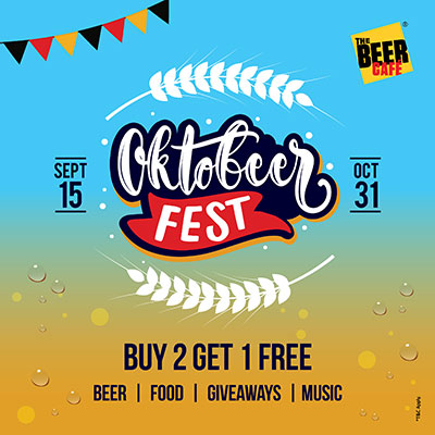 THE BEER CAFE - OKTOBEERFEST - 2019