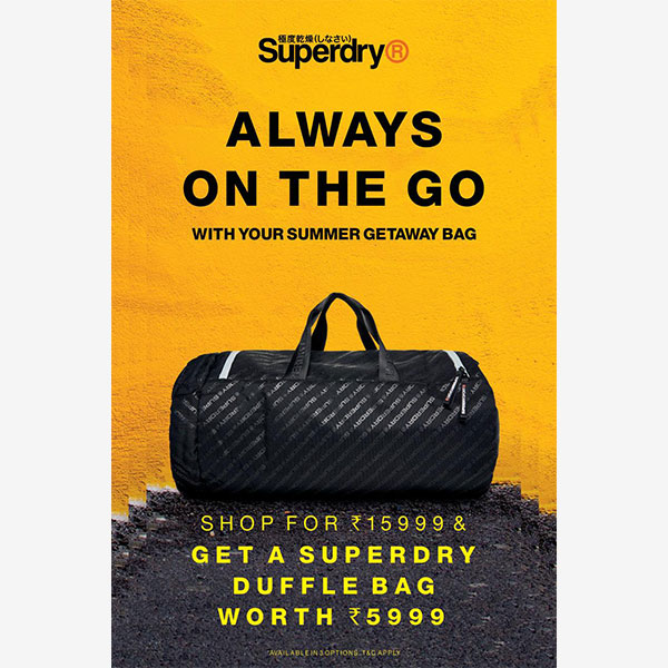 SUPER DRY - Getaway With A Summer Bag