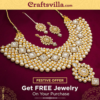 Free Jewelry on store purchase