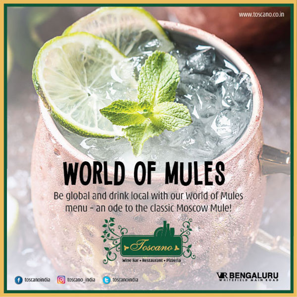 World Of Mules Special Beverage Menu