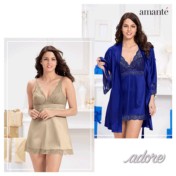 Latest collection - Adore by amante<br />&nbsp