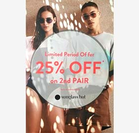 Buy 1 and Get 25% on the 2nd Pair
