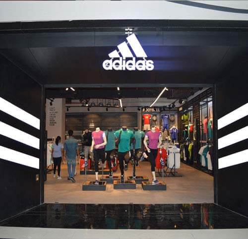 adidas showroom near koramangala